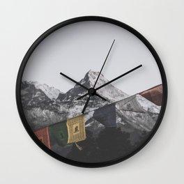Himalayas Wall Clock