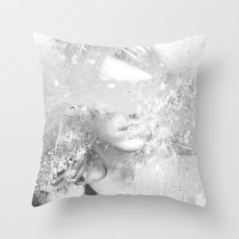 Kill Yourself & The Voices Stop Throw Pillow