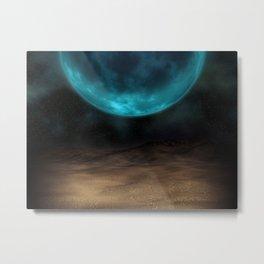 Planetary Visions Metal Print