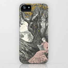 Sweet Bookish Solitude iPhone Case