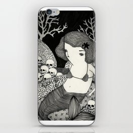 Bitter Mermaid iPhone Skin