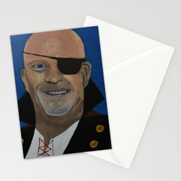 Pirate Captain One Eyed Willy Stationery Cards