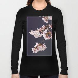 Cherry Blossoms (illustration) Long Sleeve T-shirt