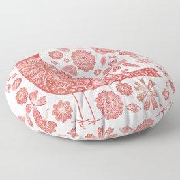 Nordic Bird Floor Pillow