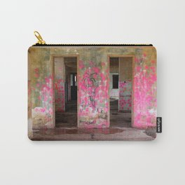 Pink Urban Graffiti Carry-All Pouch