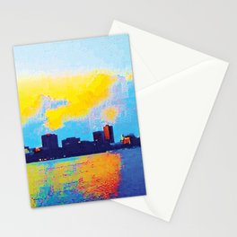 Charles River Sunset Boston Stationery Cards