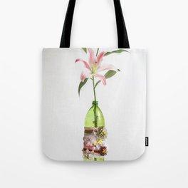 STARGAZER AND FLOWER VASE Tote Bag