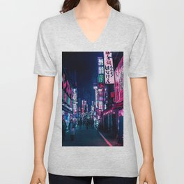 Nocturnal Alley Unisex V-Neck