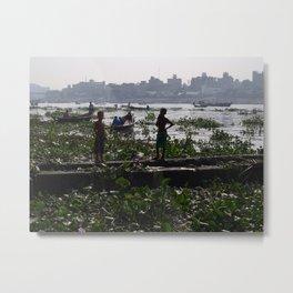 Young Bangladeshi Boys Metal Print