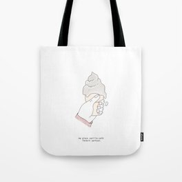 Ma glace vanille-café Tote Bag