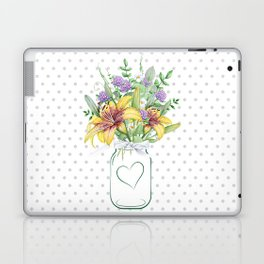 Mason Jar #2 Laptop & iPad Skin