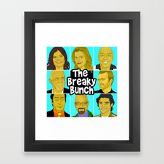 Breaky Bunch Framed Art Print