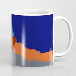 Abstract landscape French Riveria Coffee Mug