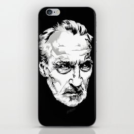 Sir Christopher Lee iPhone Skin