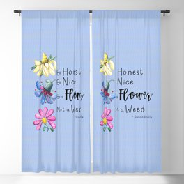 Be a Flower Blackout Curtain