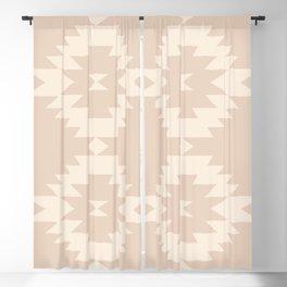 Southwestern Minimalism - Soft Pink Blackout Curtain