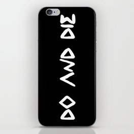 DO AND DIE iPhone Skin