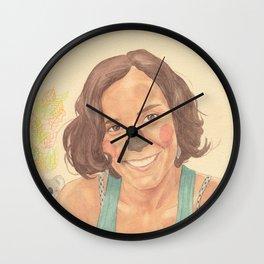 The koala girl Wall Clock