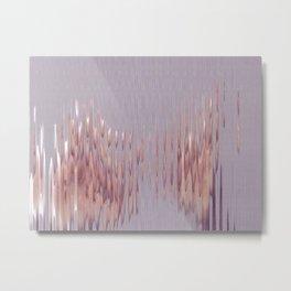 Peach River Metal Print