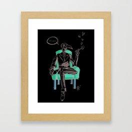 Birdman (Ciao) Framed Art Print