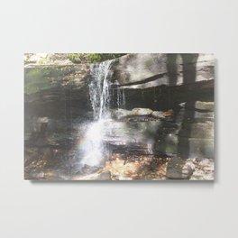 Rainbows & Waterfalls Metal Print