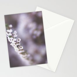 The Smallest White Flowers 02 Stationery Cards