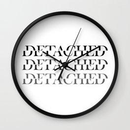 Detached. Wall Clock