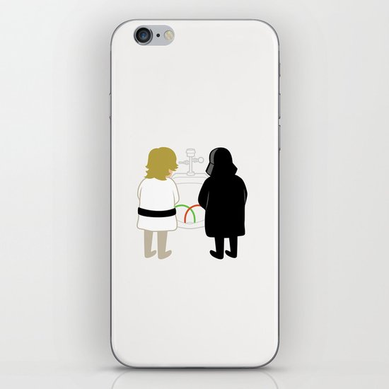 Saber Fight iPhone & iPod Skin