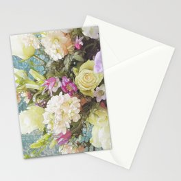 Festive Vintage Floral Stationery Cards