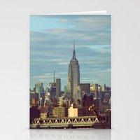 skyline Stationery Cards featuring Skyline by Alex Marcano