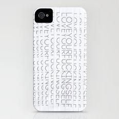 SELF iPhone (4, 4s) Slim Case