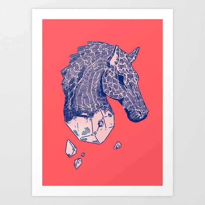 ♞✧ Art Print