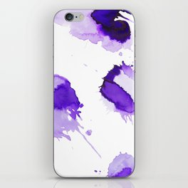 Purple Palette Splashes iPhone Skin