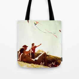 Kiteflying and Relaxing Tote Bag