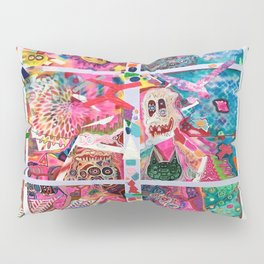 Subconsious Safari By Artist Jeff Parrott Psyexpression Pillow Sham