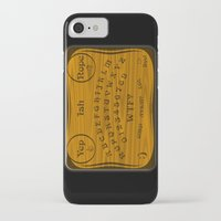 ouija iPhone & iPod Cases featuring Ouija 3.0 by tuditees