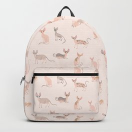 Sphynx Cats Backpack