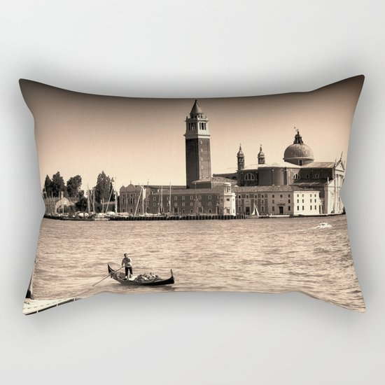 A perfect day in Venice Rectangular Pillow