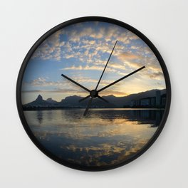 All-embracing Rio Wall Clock