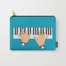 Piano Hands Carry-All Pouch