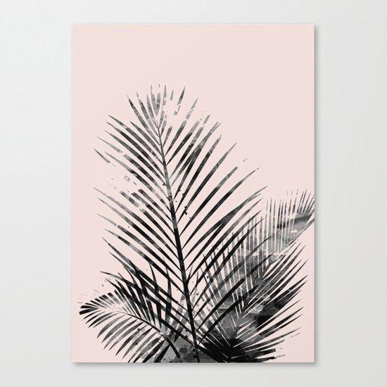 Spring palm Canvas Print