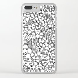 prickly pear king Clear iPhone Case