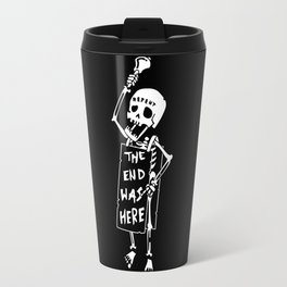 the end was here Travel Mug