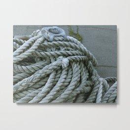 Fisherman's Rope Metal Print