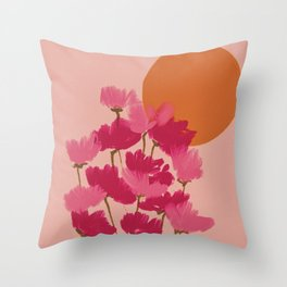 and where will we be on august 14th? Throw Pillow