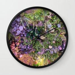 A Florist's Ceiling Garden Wall Clock