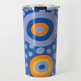 Rapsody in blue Travel Mug