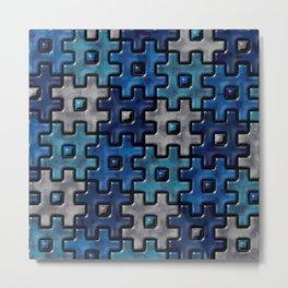Geometrix LVII Metal Print