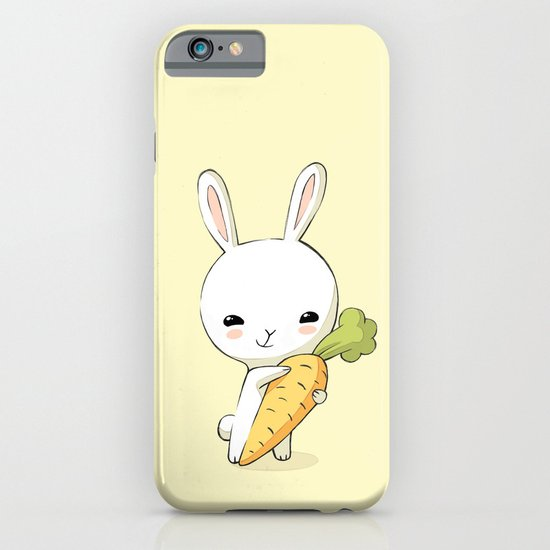 Bunny Carrot 2 iPhone & iPod Case
