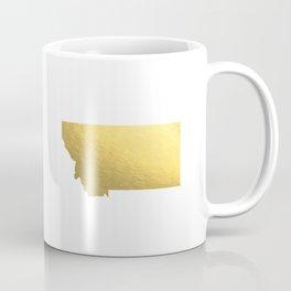 Montana State Printable Art Montana Art Printable Montana Map Printable Faux Gold Foil Printable Wal Coffee Mug